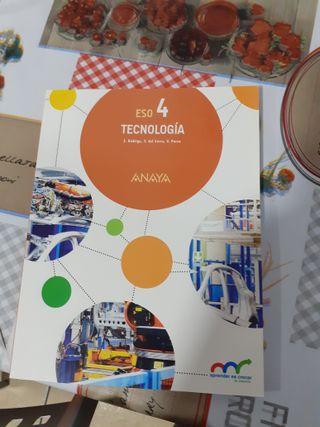 LIBRO 4 ESO TECNOLOGIA ISBN 9788469812211