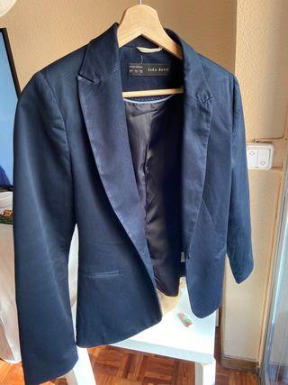 Americana azul Zara