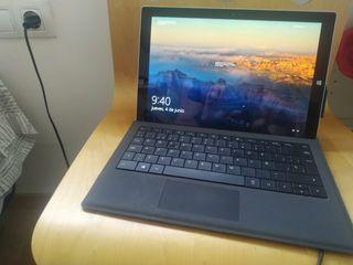 Surface Pro 3 + Dock + funda teclado