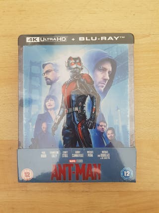 Ant Man 4K ULTRA HD Blu Ray STEELBOOK