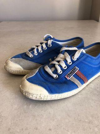 Zapatillas Kawasaki azul