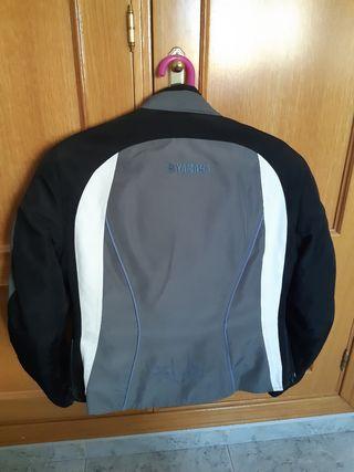 chaqueta de moto para chica Yamaha talla 38