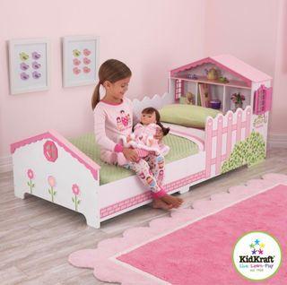 Cama casita muñecas kidkraft