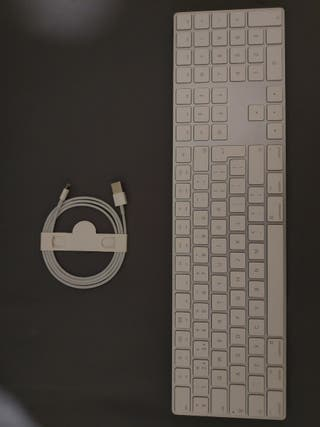 Mac magic keyboard with numeric pad