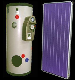 Equipo Forzado 150L Termicol Estación Solar