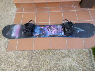 Snowboard chica