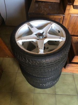 4 llantas neumáticos nuevas dunlop sp