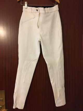 Breeches Hípica Blancos Mujer