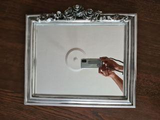 Espejo plateado
