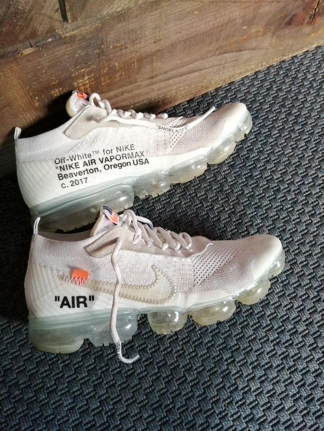 Nike vapor máx off white