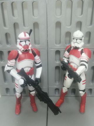 Star Wars figuras shocktroopers