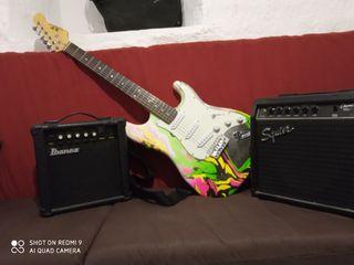 Guitarra eléctrica marca XP