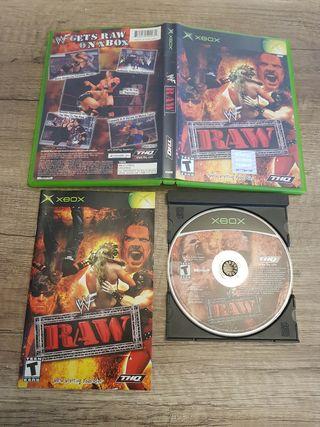 Xbox WWF Raw NTSC-USA completo