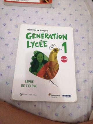 Libro de Francés
