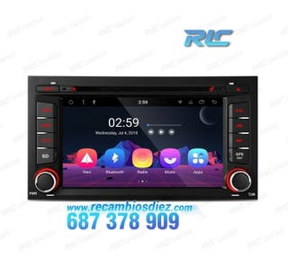 RADIO DVD GPS ANDROID 8.1 SEAT LEON 3 BLUETOOTH WI