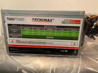 Fuente alimentación ATX 500W nueva