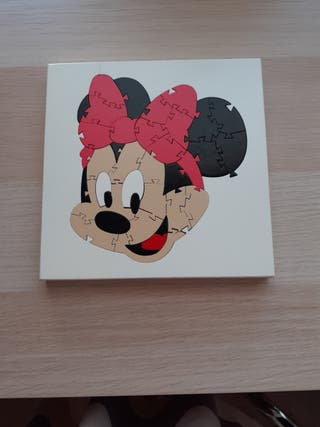 Puzzle Minnie madera