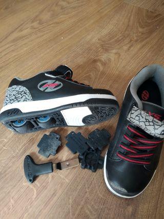 Zapatillas con ruedas Heelys talla 31