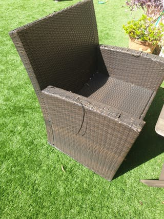 2 sillas jardin