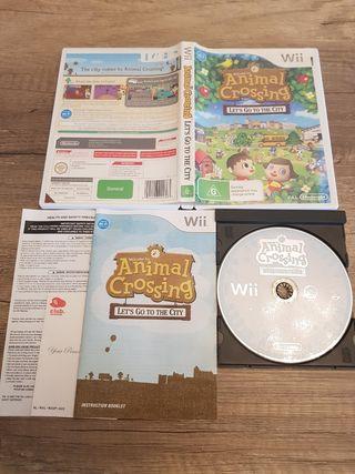 Nintendo Wii Animal Crossing PAL UK completo