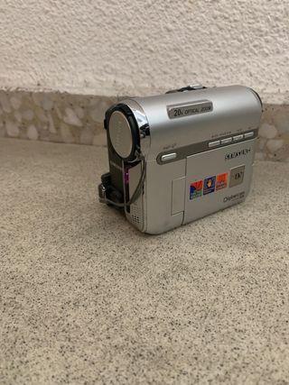 Cámara de vídeo de cintas Samsung