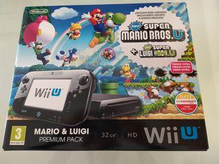 Wii U Premium Pack 32Gb (MarioBros U/New Luigi U)