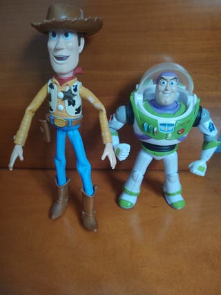 Buzz y Woody, figuras Toy Story