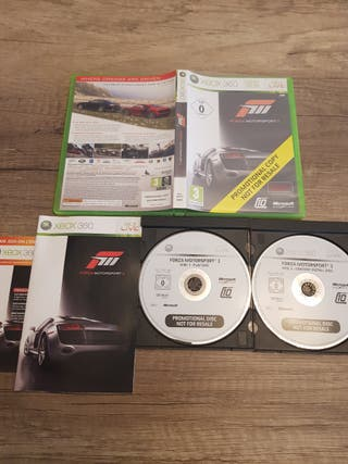 Xbox 360 Forza Motorsport 3 PAL UK completo