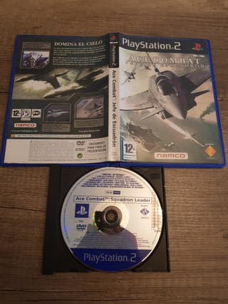 Ps2 Ace Combat Jefe de escuadrón PAL ESP Promo