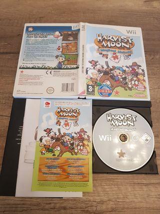 Nintendo Wii Harvest Moon Magical Melody PAL ESP