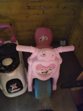 moto y coche bebe- niñ@s.