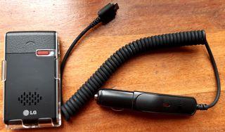 Manos libres solar. LG HFB-500 Bluetooth