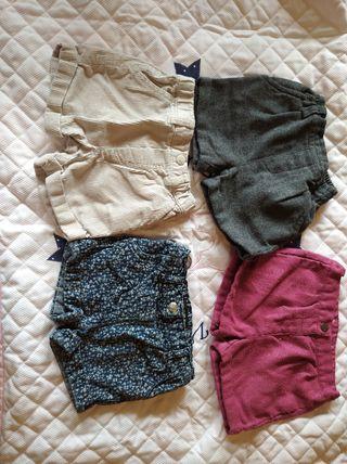 shorts de invierno- lote