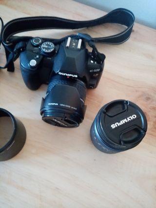 Camara de fotos digital reflex Olympus E520