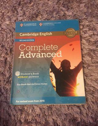 Student book complete advanced c1