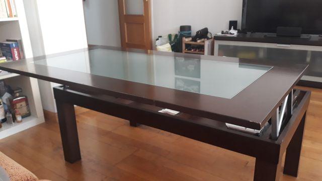Mesa salón elevable