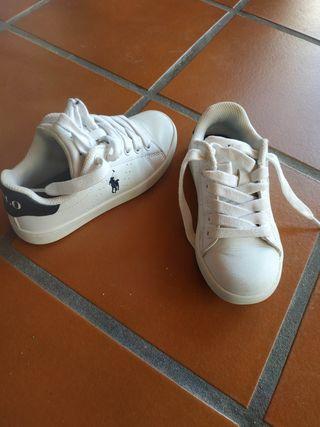 Zapatillas deportivas talla 27 Ralph Lauren Polo