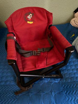 Trona plegable para silla