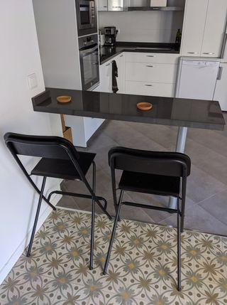 2 FRANKLIN Ikea Bar Stools (Sillas de bar)
