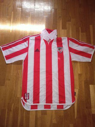 Camiseta retro del Athletic Club de Bilbao.
