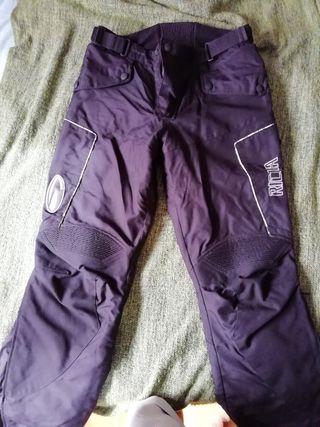 pantalon moto marca RICHA negro