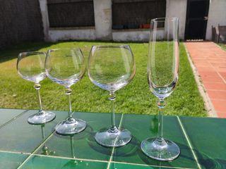 Cristalería Copas