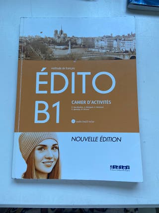 édito b1 , cuaderno actividades