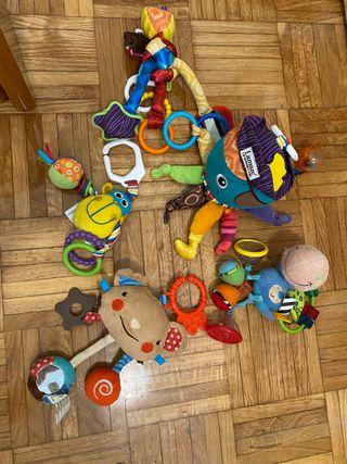 5 Juguetes sensoriales bebé + REGALO