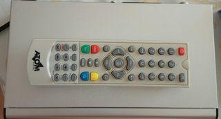 tdt reproductor y grabador USB. decodificador.