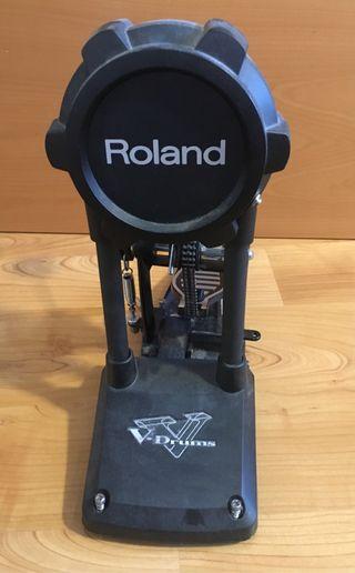 Bombo y pedal de batería electrónica Roland V Drum