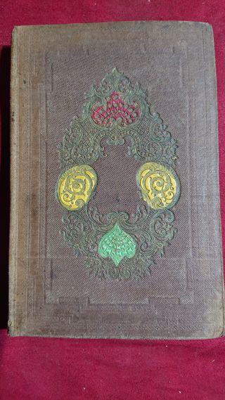 LIBRO HISTORIA ANTIGUA 1858
