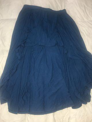 Falda azul de Shana talla XL