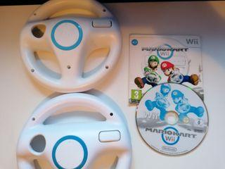 Mario kart wii + 2 volantes