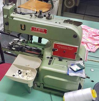 Máquina coser Lewis